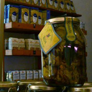 bocal d'artichauts italiens